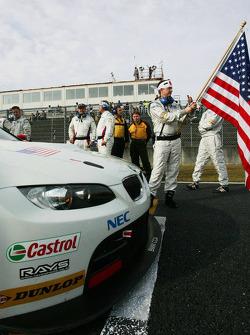 #92 BMW Rahal Letterman Racing Team BMW E92 M3