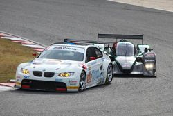 #92 BMW Rahal Letterman Racing Team BMW E92 M3: Tom Milner, Dirk Muller, #87 Drayson Racing Lola Coupe Judd: Paul Drayson, Jonny Cocker