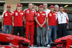Marc Gene, piloto de pruebas, Scuderia Ferrari, Kimi Raikkonen, Scuderia Ferrari, Stefano Domenicali