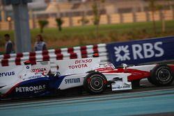 Robert Kubica, BMW Sauber F1 Team y Jarno Trulli, Toyota F1 Team