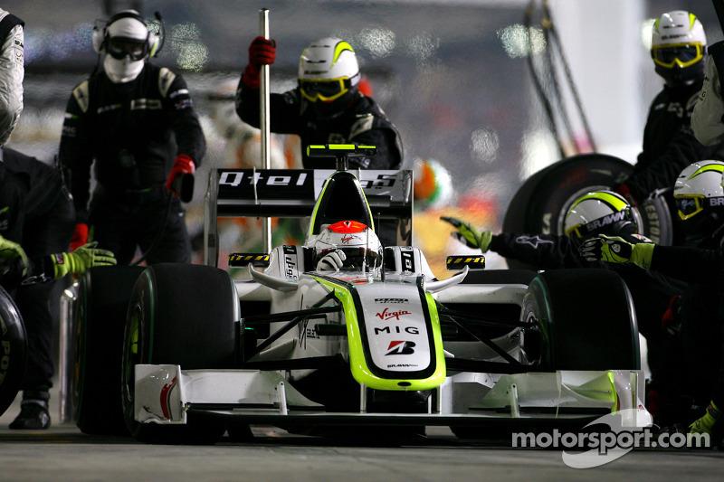 2009: Brawn, 3º no campeonato (77 pts). Foram 21 poles na F1.