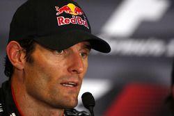 Conférence de presse d'après course: Mark Webber, Red Bull Racing