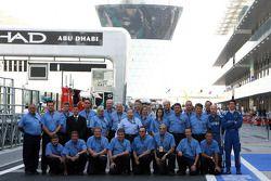 Jean Todt, Charlie Whiting, et l'équipe de la FIA