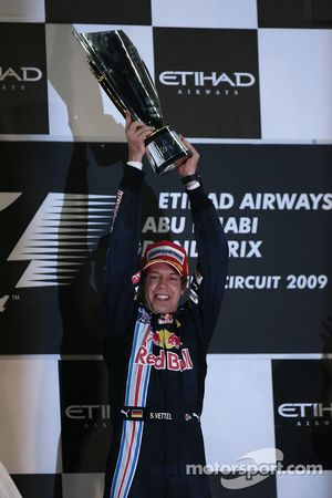 Winnaars Sebastian Vettel, Red Bull Racing