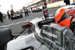 Henri Karjalainen on the grid