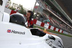 Ollie Hancock on the grid
