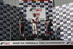 Nicola De Marco, Andy Soucek et Robert Wickens sur le podium de la course