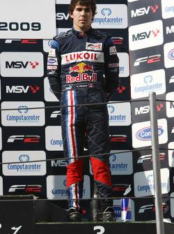 Robert Wickens sur le podium de la course