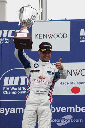 Podium: winner, Andy Priaulx, BMW Team UK