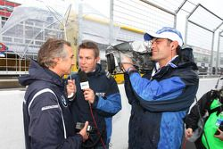 Charly Lamm, BMW Team Germany / Schnitzer Motorsport interviewé par Eurosport