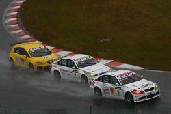 Alex Zanardi, BMW Team Italy-Spain, BMW 320si, Augusto Farfus, BMW Team Germany, BMW 320si