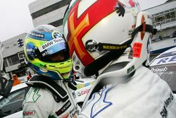 Augusto Farfus, BMW Team Germany, BMW 320si and Andy Priaulx, BMW Team UK, BMW 320si