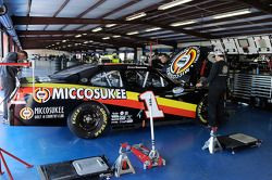The #1 Miccosukee Nationwide COT sits in the garage