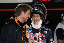 Group A: Jenson Button and Sebastian Vettel