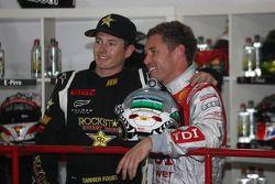 Tanner Foust and Tom Kristensen