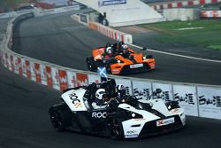 Group D, race 6: David Coulthard and Yvan Muller