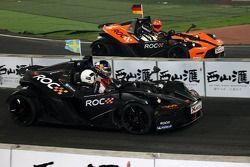 Final, race 2: Mattias Ekström and Michael Schumacher