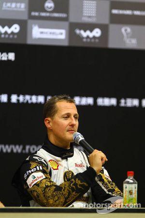Conferencia de prensa: Carrera de Campeones segundo lugar Michael Schumacher