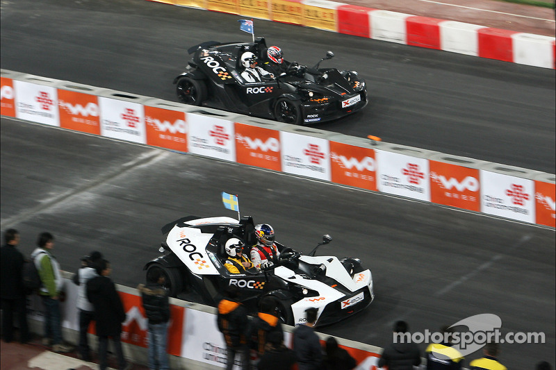 Group B, carrera 5: Mattias Ekström y Mick Doohan