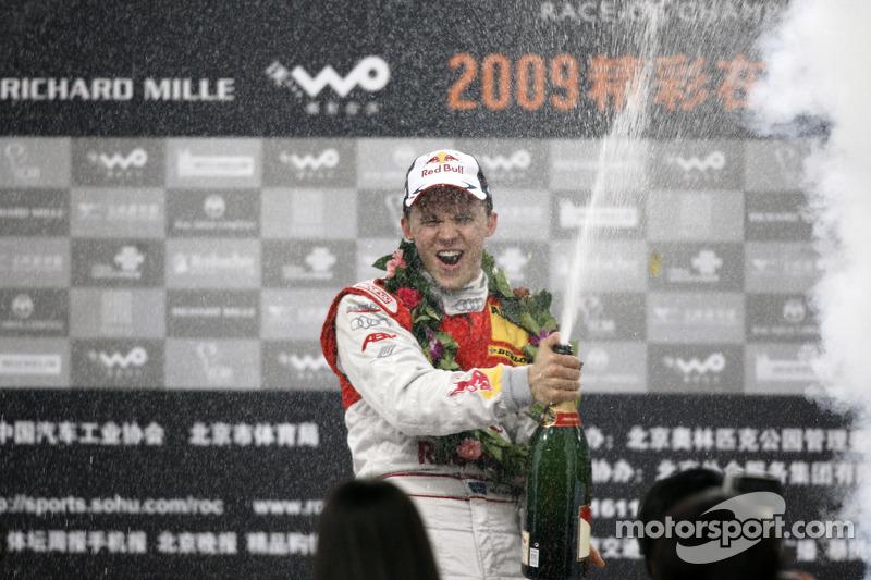 Campeón de la Race of Champions 2009: Mattias Ekström