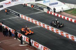 Group C, race 1: Yvan Muller and Tom Kristensen