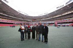 Presentation at The Birds Nest Stadium