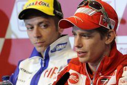 Conferencia de prensa: Valentino Rossi, Fiat Yamaha Team y Casey Stoner, Ducati Marlboro Team