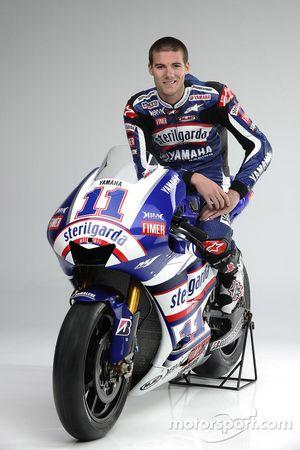 Ben Spies con su Yamaha YZR-M1para el GP de Valencia