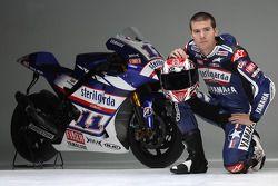 Ben Spies avec sa Yamaha YZR-M1, Valencia
