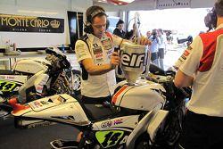 Le garage de LCR Honda MotoGP Team