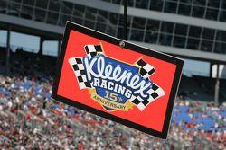 Kleenex racing pit sign