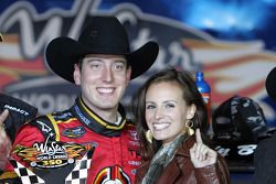 Race winner Kyle Busch