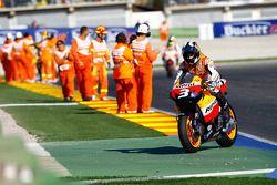 Dani Pedrosa, Repsol Honda Team, vainqueur de la course