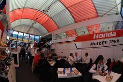 L'aire de LCR Honda MotoGP Team