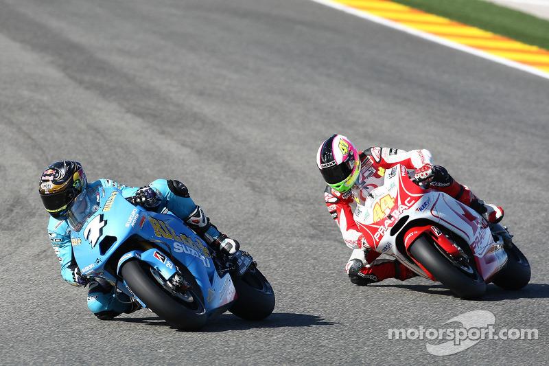 Chris Vermeulen, Rizla Suzuki MotoGP, Aleix Espargaró, Scot Racing Team MotoGP