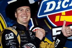 Victory lane: race winner Kurt Busch, Penske Racing Dodge