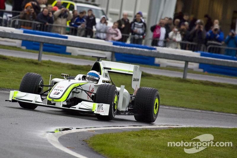 Anthony Davidson Brawn GP Demonstration