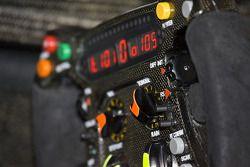 Brawn GP steering wheel