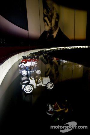 Miniatures de toutes les Mercecedes-Benz