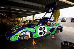 Porsche Cayman Hippie car