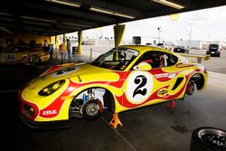 Porsche Cayman Martini car