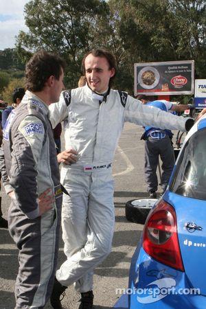 Robert Kubica s'essaie au rallye sur une Renault New Clio R3C Dp Autosport