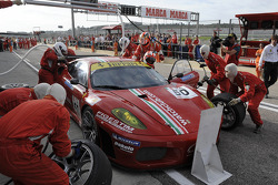 GT: pit stop action