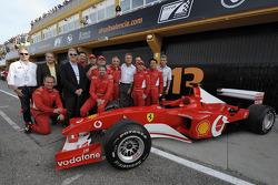 F1 Clienti: Piero Ferrari with competitors