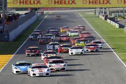 Ferrari Challenge: Mondiale Shell start