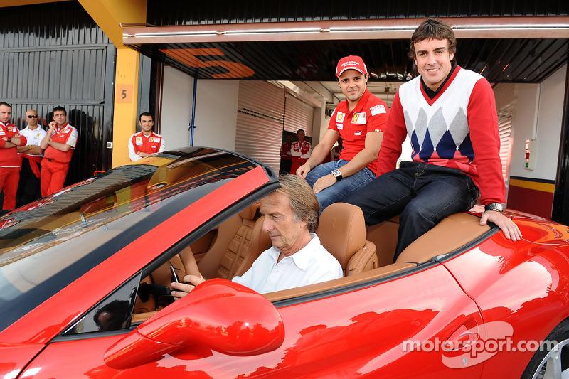 2009: Ferrari-Jahresabschlussparty