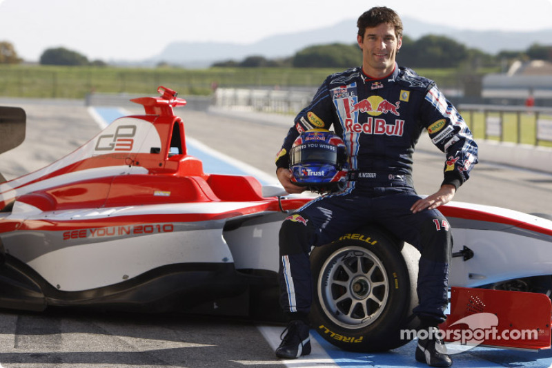 Марк Уэббер, тесты машины GP3