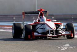 Bernard Romain test drives the new GP3 Series car