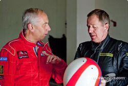 Paolo Ciccarone with Martin Brundle