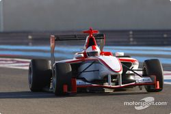 Martin Brundle test drives the GP3 Series car